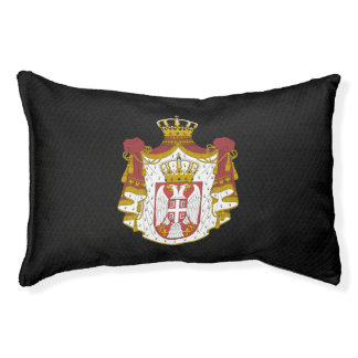 Serbian coat of arms dog bed