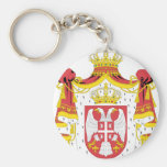 Serbian Coat of Arms Key Chain