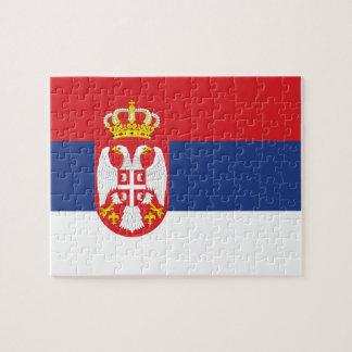 Serbian Flag Jigsaw Puzzles