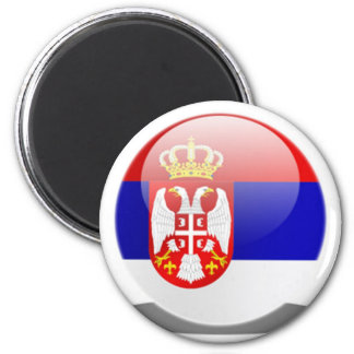 Serbian Flag Magnet