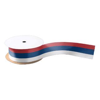 Serbian flag ribbon