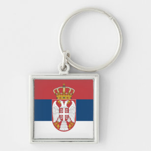 Key chain Keychain Privezak Serbian Flag Zastava Srbija Serbia
