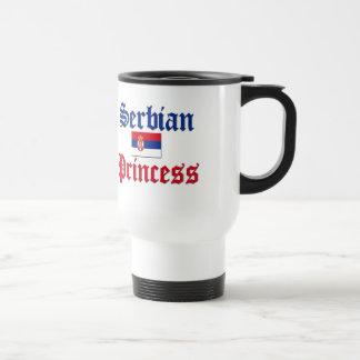 Serbian Princess Travel Mug