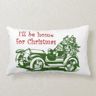 Seré casero para el navidad cojín