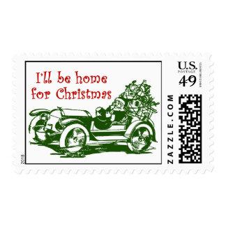 Seré casero para el navidad sello