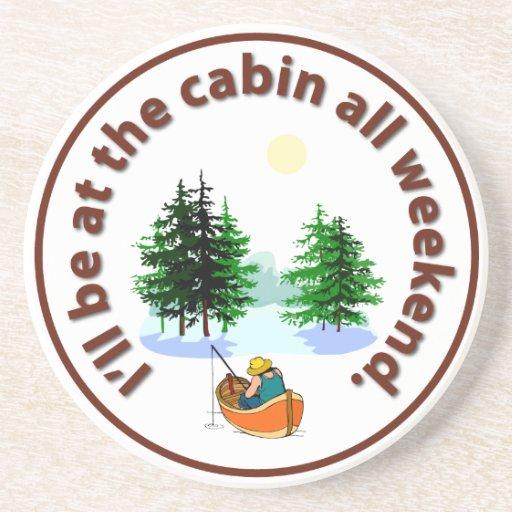 Seré en la cabina todo el fin de semana posavaso para bebida