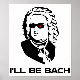 Seré Johann Sebastian Bach Póster