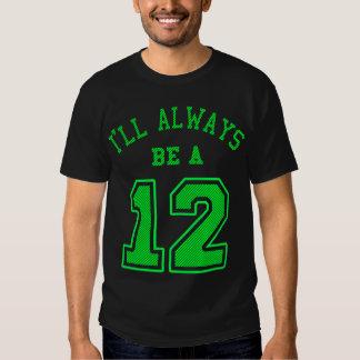 Seré siempre A 12 Remera