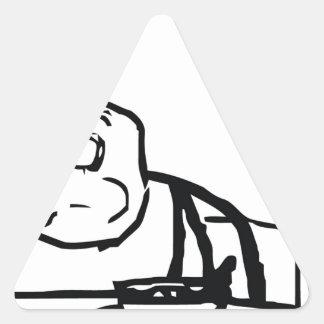 Sereal Guy Triangle Sticker