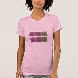 Serena como sodio del renio del selenio camisetas