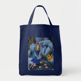 Serena le Bleu Bolsa Tela Para La Compra