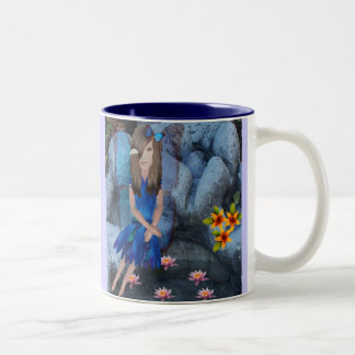 Serena le Bleu Two-Tone Coffee Mug