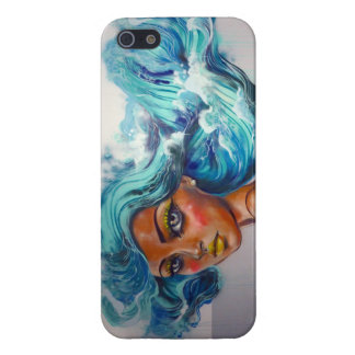 Serena Ocean Haired Mermaid I Case For iPhone SE/5/5s