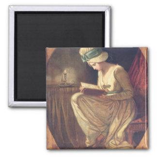 Serena (oil on canvas) magnet