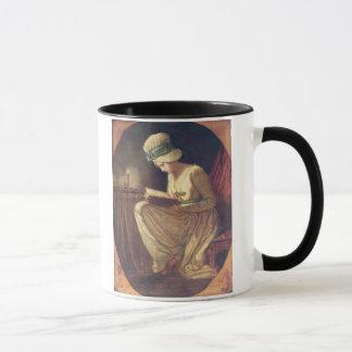 Serena (oil on canvas) mug