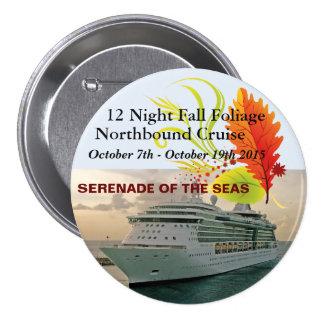 """Serenade Cruise 3"""" Pin"""