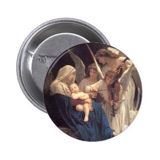Serenade of Angels 2 Inch Round Button