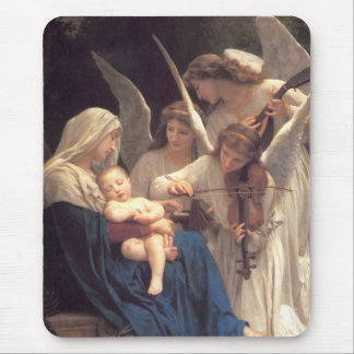 Serenade of Angels Mouse Pad