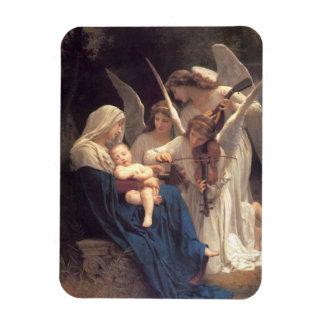 Serenade of Angels Rectangular Photo Magnet