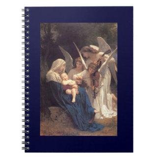 Serenade of Angels Spiral Notebooks