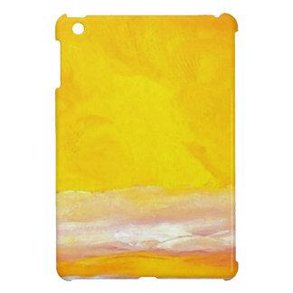 Serenade of Light Yellow Gold Ocean Sky Sea Waves iPad Mini Cases