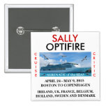 Serenade of the Seas Name Tag Button