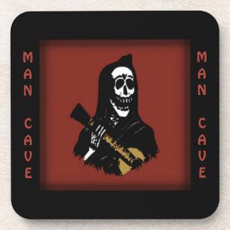 Serenade Skeleton Man Cave Coasters