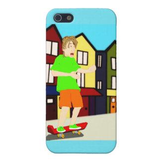 Serenading Skateboarding Dude iPhone Case