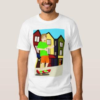 Serenading Skateboarding Dude T-Shirt