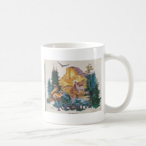 Serenata de la fauna de Yosemite Tazas De Café