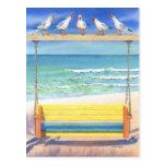 Serenata de la playa tarjetas postales