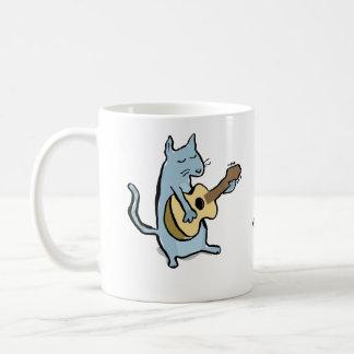 serenata del gato taza clásica