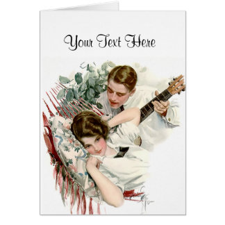 Serenata del verano tarjetas