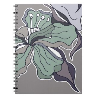Serendipity Floral Forest Notebook