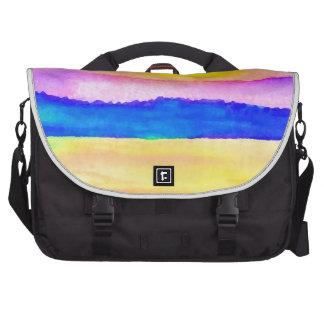 Serendipity Ocean Lake Sunset Art Laptop Bag