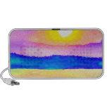 Serendipity Ocean Lake Sunset Art Travelling Speaker