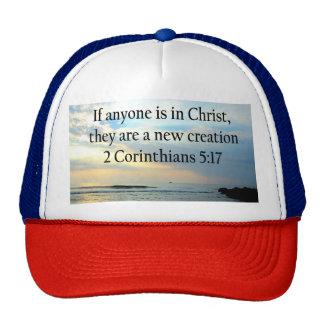 SERENE 3 CORINTHIANS 5:17 OCEAN SCENE PHOTO TRUCKER HAT