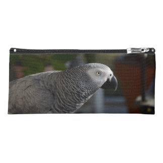 Serene African Grey Parrot Pencil Case