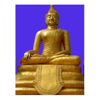 Serene and beautiful Buddha design Postcard