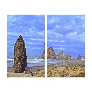 Serene Beach Canvas Print