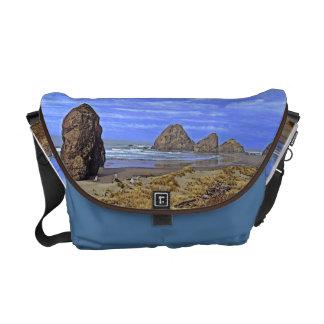 Serene Beach Messenger Bag