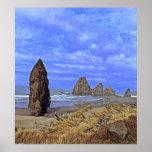 Serene Beach Posters