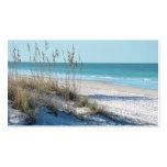Serene Beach Sea Oats & Blue Water Business Card