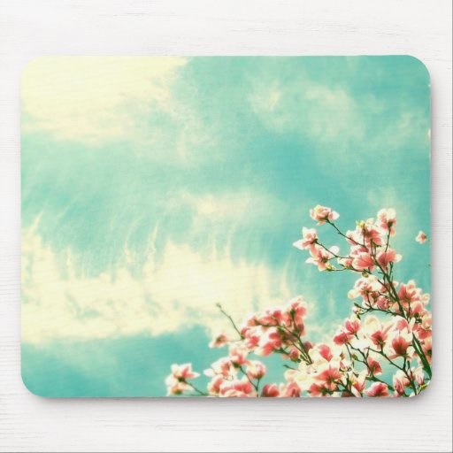 Serene Blue Mouse Pad