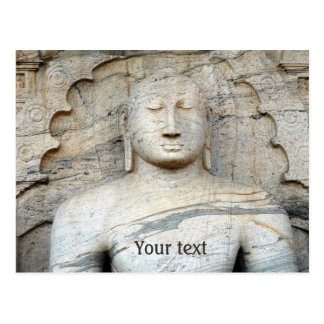 Serene Buddha Image Postcard