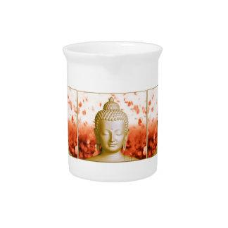 Serene Buddha pitcher