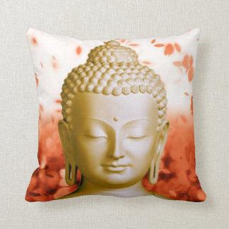 Serene Buddha square pillow