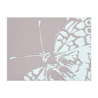 Serene Butterfly Gallery Wrap Canvas