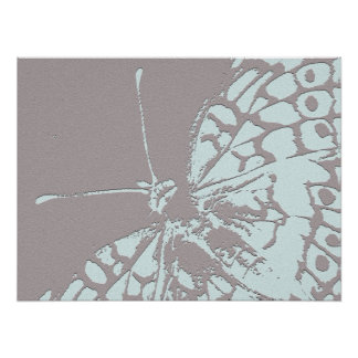 Serene Butterfly Posters