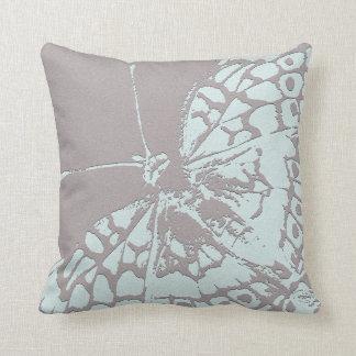 Serene Butterfly Throw Pillow